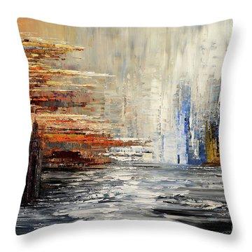 Shadowlands Throw Pillow by Tatiana Iliina
