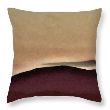 Shadows And Light Throw Pillow