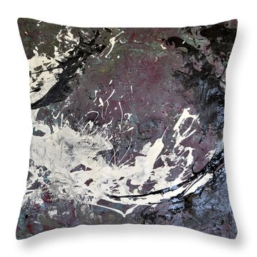 Shadows And Substance-2 Throw Pillow