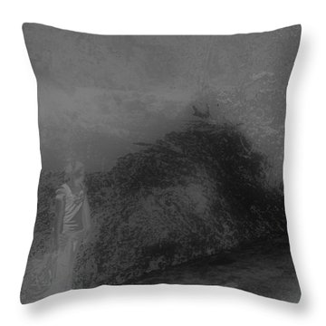 Throw Pillow featuring the photograph Shadows by EDi by Darlene