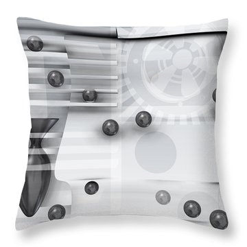 Shadows In The Apartment. Throw Pillow