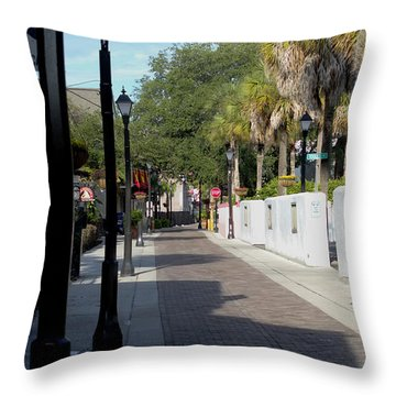 Shady Hypolita Street Throw Pillow