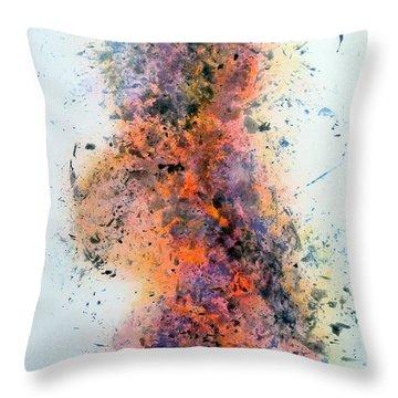 Shake It Off - Art By Jim Whalen Throw Pillow