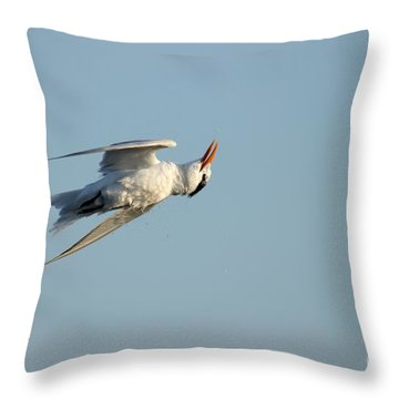 Shake It Off  Throw Pillow by Kathy Gibbons