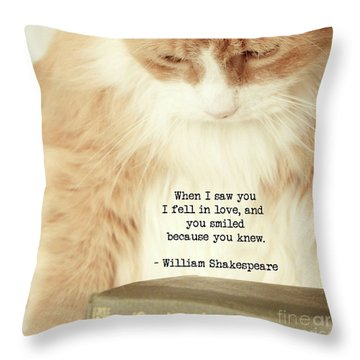 Shakespeare In Love Throw Pillow