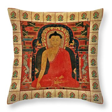 Shakyamuni Buddha Throw Pillow