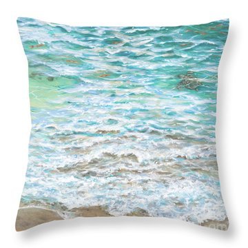 Shallow Water Throw Pillow