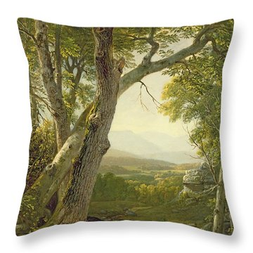 Shandaken Ridge - Kingston Throw Pillow by Asher Brown Durand