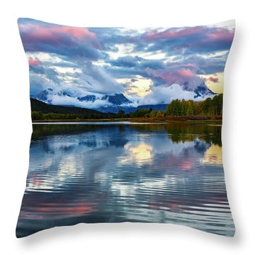 Shangi-la Throw Pillow