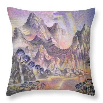 Shangri La Throw Pillow