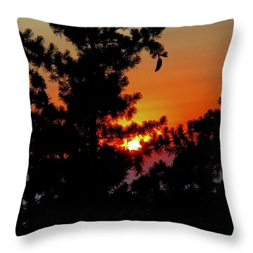Shangrila Sunset Throw Pillow by Jack Eadon