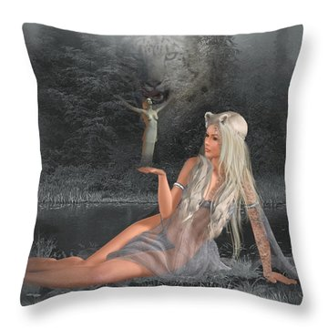 'shannathshima' Throw Pillow