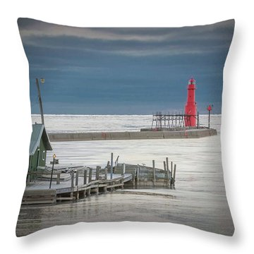 Shanty Watch Throw Pillow
