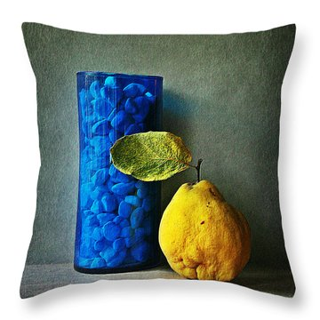 Shape And Colour Throw Pillow