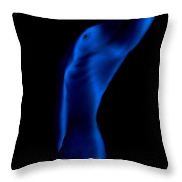 Shapes 3 Throw Pillow by Sergio Bondioni