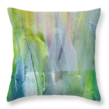 Shapes And Colors Throw Pillow by Dan Whittemore