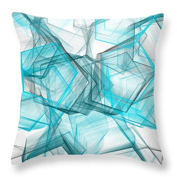 Shapes Galore Throw Pillow