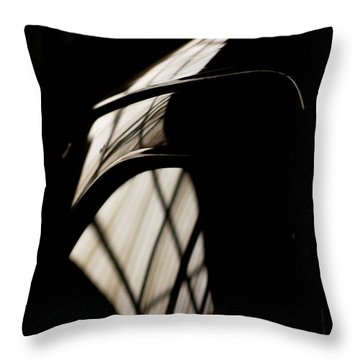 Shapes Throw Pillow by Paul Job