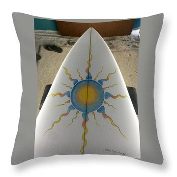 Shaping And Painting  Throw Pillow