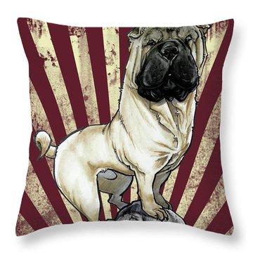 Shar Pei Revolution Throw Pillow