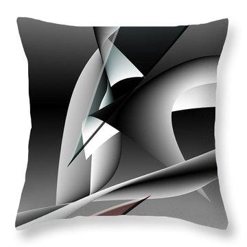 Shards Throw Pillow