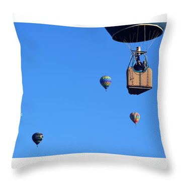 Share The Air Throw Pillow