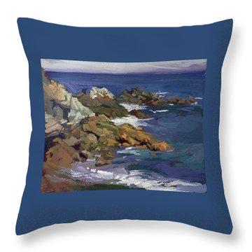 Shark Autumn Catalina  Plein Air Throw Pillow