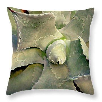 Sharp Embrace 8 Throw Pillow