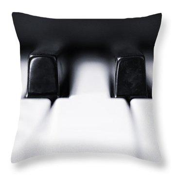 Sharp Or Flat Throw Pillow