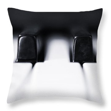 Ivory Photographs Throw Pillows
