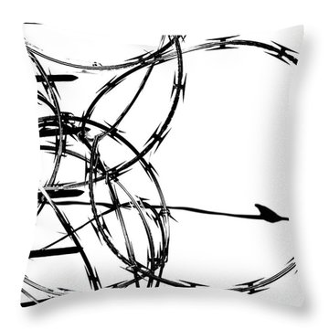 Sharp Wings  Throw Pillow