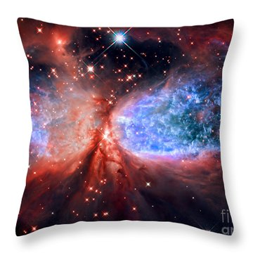 Sharpless 2-106 Throw Pillow by Nicholas Burningham