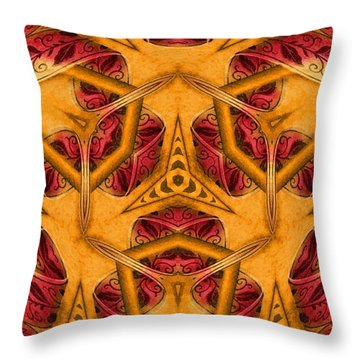 Shatter #4 Throw Pillow