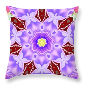Shatter #5 Throw Pillow