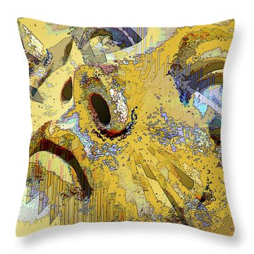 Shattered Illusions Throw Pillow