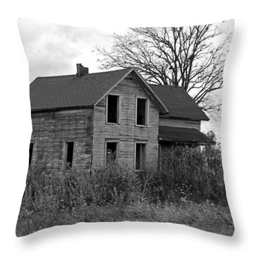 Shattered Ties Throw Pillow