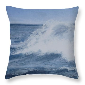 Shattered Water Throw Pillow