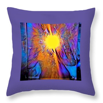 Shattering Perceptions   Throw Pillow
