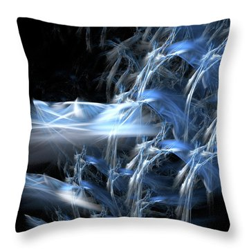 Shattering The Cosmos Throw Pillow by Jeremy Nicholas