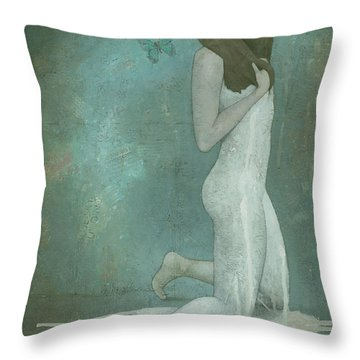 Shavata Throw Pillow by Steve Mitchell