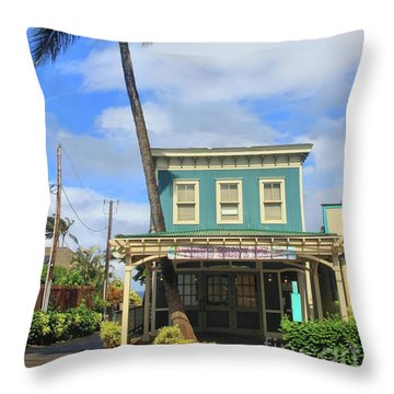 Throw Pillow featuring the photograph Shave Ice by DJ Florek