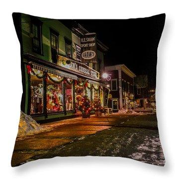 Shaws Sports Store. Throw Pillow