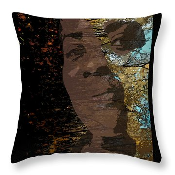 She Is Loved Throw Pillow by Cedric Hampton