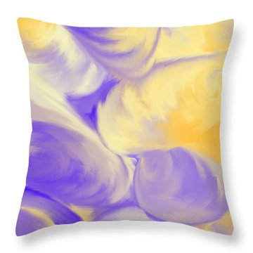 She Sells Sea Shells Throw Pillow