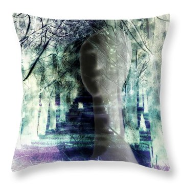 She Thought She's Never Be Alone Again Throw Pillow