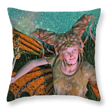 A Mind For Knowing Throw Pillow