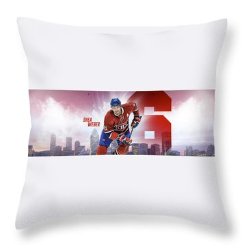 Shea Weber Throw Pillows