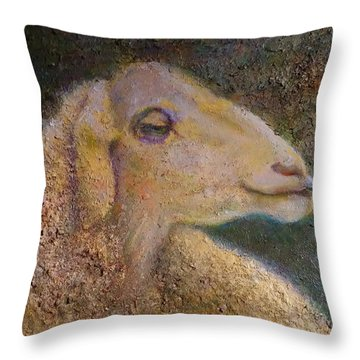 Sheep As Throw Pillow