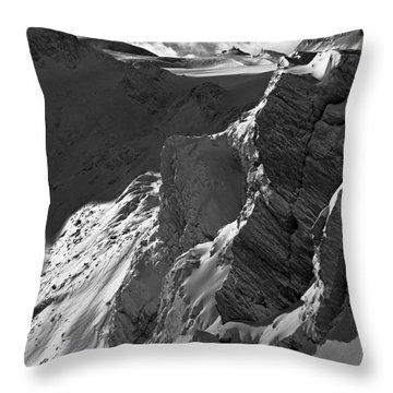 Sheer Alps Throw Pillow