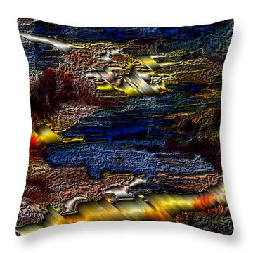 Sheet Metal  Throw Pillow